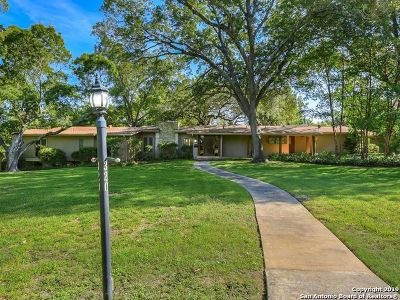 Alamo Heights Single Family Home For Sale: 320 Primrose Pl