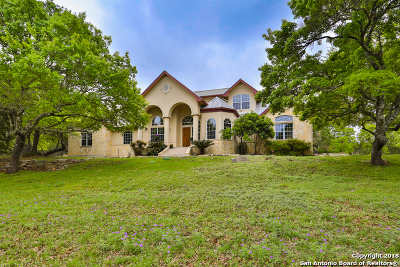 Boerne Single Family Home Active Option: 109 Kendall View