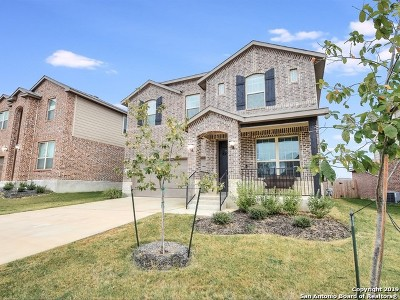 Bexar County Single Family Home New: 2166 Abadeer Trail