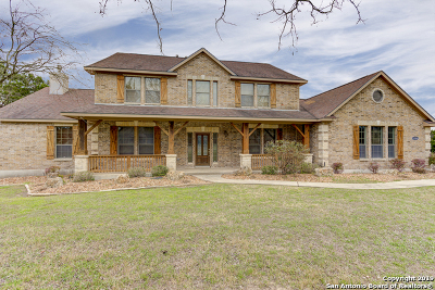 New Braunfels Single Family Home For Sale: 1709 Havenwood Blvd