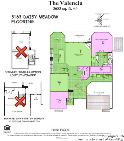 New Braunfels Single Family Home New: 3163 Daisy Meadow