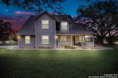 Boerne Single Family Home New: 117 White Oak Trail