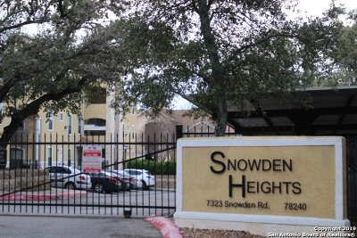 San Antonio Condo/Townhouse New: 7323 Snowden Rd #1102