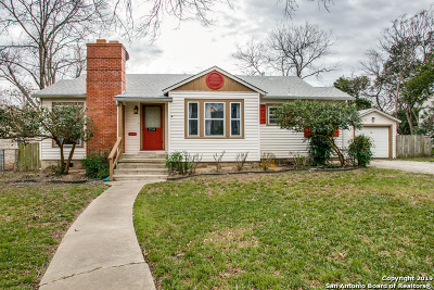Alamo Heights Single Family Home Price Change: 256 Claywell Dr