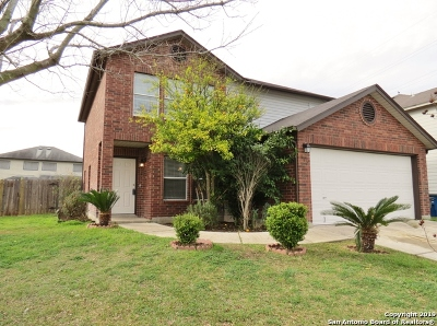 New Braunfels Single Family Home Active Option: 367 Stone Gate Dr