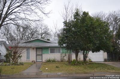 San Antonio Single Family Home Back on Market: 8024 Landing Ave