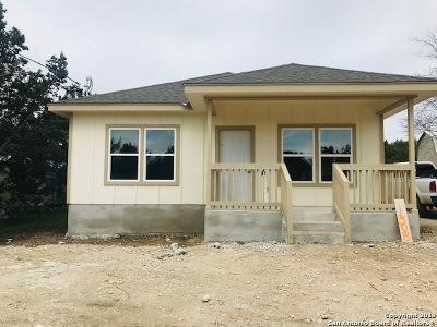 Canyon Lake Single Family Home New: 1308 Mountain View Dr