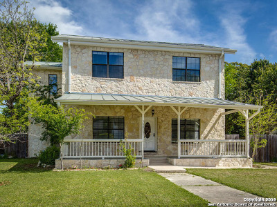 Boerne Single Family Home New: 340 James St