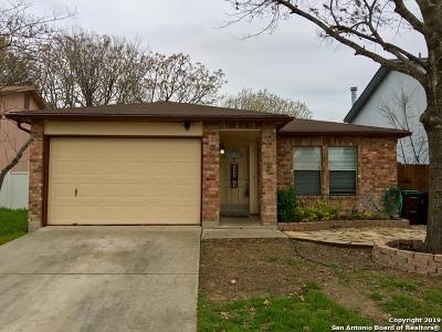 San Antonio Single Family Home Active Option: 2914 Dixon Plain Dr