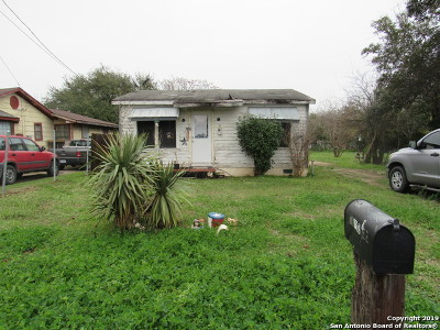 Hondo Single Family Home New: 1105 1/2 Avenue S