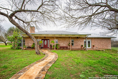 Hondo Single Family Home For Sale: 1500 State Highway 173 S