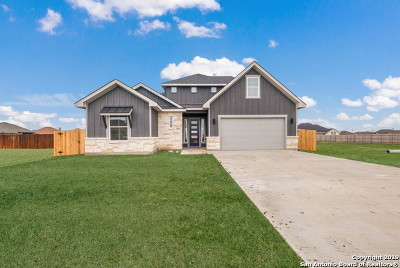 Seguin Single Family Home New: 4599 Prairie Summit