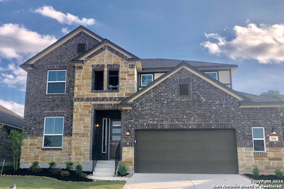 Boerne Single Family Home Price Change: 136 Telford Way