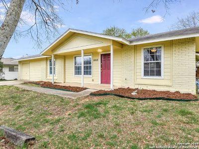 San Antonio Single Family Home Active Option: 6615 Spring Haven St