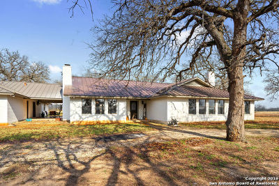 Wilson County Single Family Home New: 3841 Fm 3335