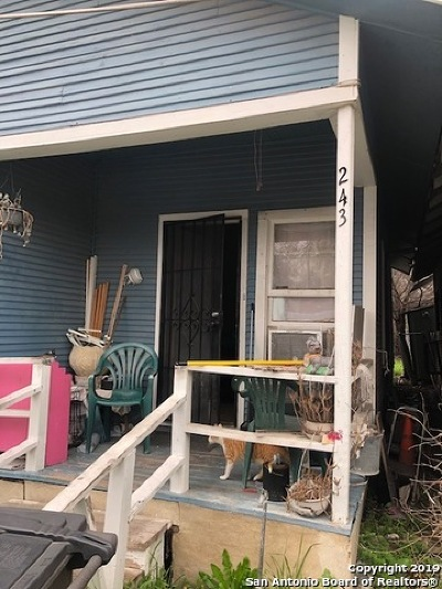 San Antonio Single Family Home New: 243 Albert St