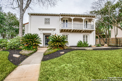 San Antonio Single Family Home Back on Market: 150 Park Dr