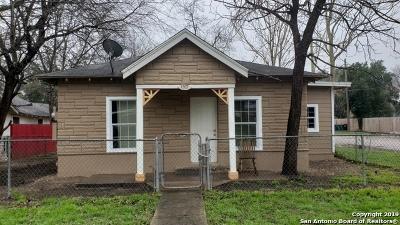 San Antonio Single Family Home New: 1202 Center St