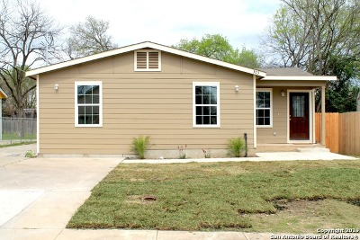 San Antonio Single Family Home Back on Market: 303 Loy Dr