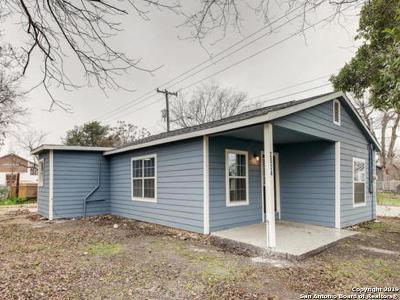 San Antonio Single Family Home New: 2024 Montezuma St