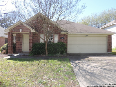 Schertz Single Family Home Active Option: 1228 Dove Mdws