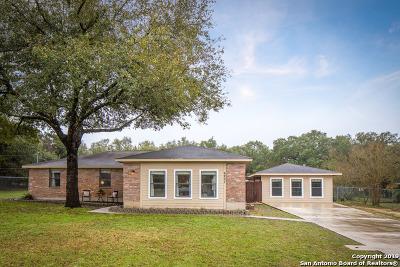 Bulverde Single Family Home New: 6207 Circle Oak Dr