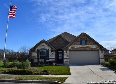 Cibolo Single Family Home New: 122 Sunset Heights