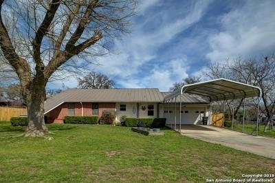 Kerrville Single Family Home For Sale: 123 Oak Way
