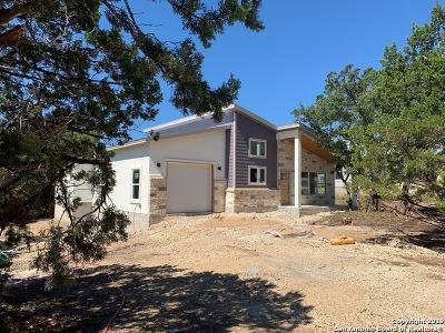 Canyon Lake Single Family Home New: 1228 Canyon Shores