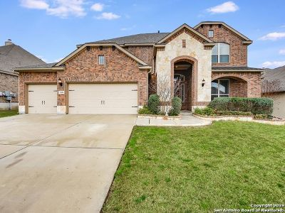 San Antonio Single Family Home New: 11606 Evan Cypress