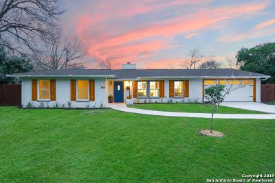 San Antonio Single Family Home New: 260 Wyanoke Dr