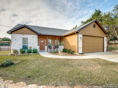 Canyon Lake Single Family Home New: 596 Riviera Dr
