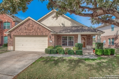 San Antonio Single Family Home Active Option: 9635 Cafe Terrace