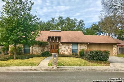 San Antonio Single Family Home Active Option: 15839 Eagle Cliff St