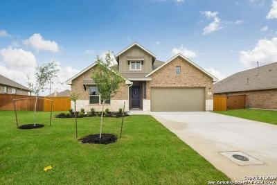 Cibolo Single Family Home New: 844 Silver Fox