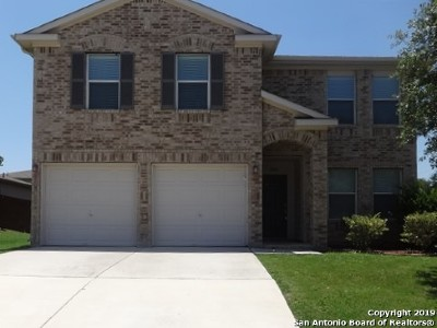 Schertz Rental New: 5104 Storm King