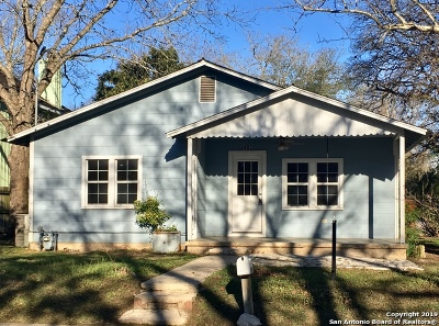 Boerne Single Family Home New: 402 Ogrady St