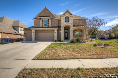 Guadalupe County Single Family Home Back on Market: 908 Resaca