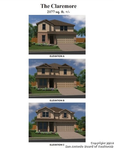 Single Family Home New: 6138 Travis Summit
