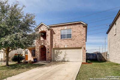 San Antonio Single Family Home Active Option: 7407 Drake Canyon