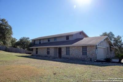 Boerne Single Family Home New: 8220 Triple Crown