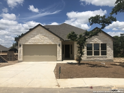 Boerne Single Family Home New: 8219 Scarlet Guara