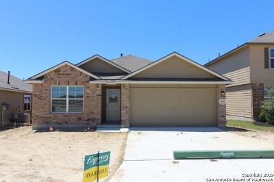 Bexar County Single Family Home New: 15210 Cedar Waxwing