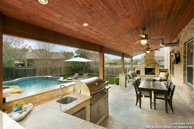 San Antonio Single Family Home New: 18731 Castellani
