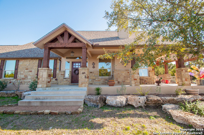 Comal County Single Family Home Active Option: 1251 Flagstone