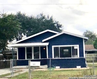 San Antonio Single Family Home New: 1910 W Mayfield Blvd