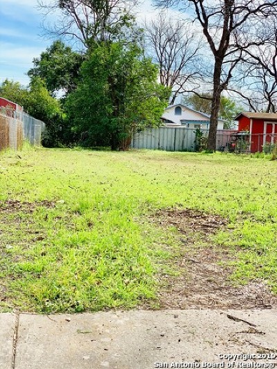 San Antonio Residential Lots & Land Back on Market: 118 Parkview Dr