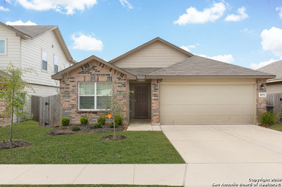 San Antonio Single Family Home New: 8031 Halo Circle