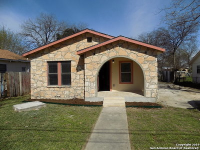 San Antonio Single Family Home New: 1135 Fitch St