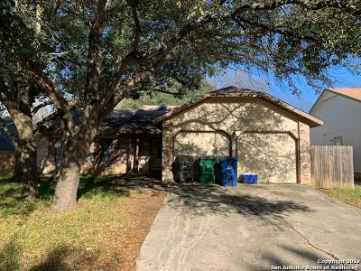 San Antonio Single Family Home New: 5739 Misty Glen